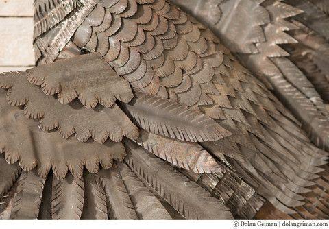 Hermitage Pheasant Faux Taxidermy Metal Wall Sculpture | Dolan Geiman