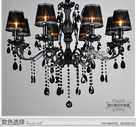 $388.00 (Buy here: http://appdeal.ru/ezc8 ) FREE SHIPPINGEMS pendant lamp black crystal pendant lamp living room pendant restaurantlamps chandelier ZZP for just $388.00