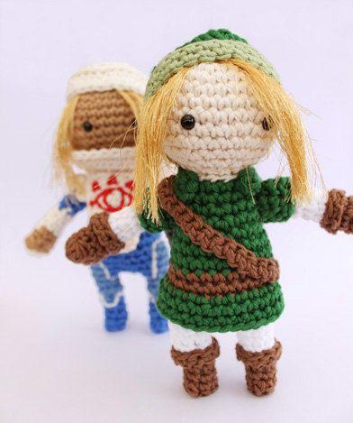 Crochet Stitches Legend : Link Crochet Pattern from The Legend of Zelda by gemugurumi