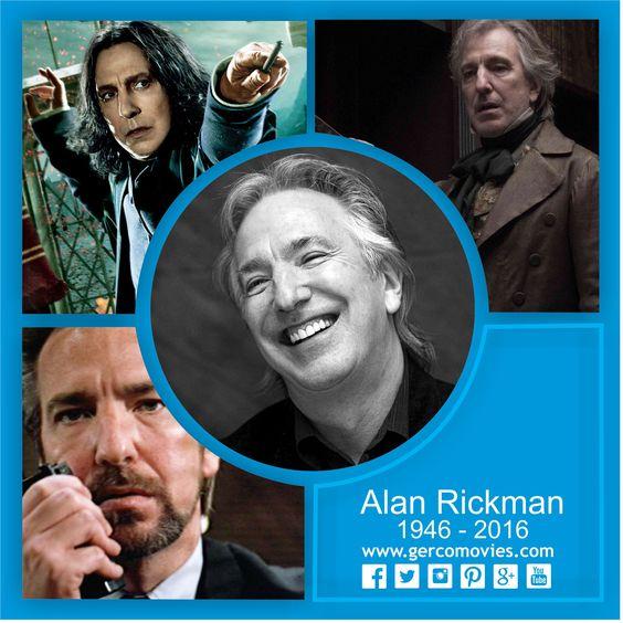 Levantemos las varitas...#AlanRickman, uno de los más queridos y admirados actores británicos de los últimos 30 años, ha muerto de cáncer. Rickman es conocido por interpretar papeles como #SeverusSnape, el profesor de #HarryPotter y a #HansGruber en el filme #DuroDeMatar.  'Cuando tenga 80 años y esté sentado en mecedora, estaré leyendo Harry Potter. Y mi familia me dirá: 'después de todo este tiempo...' Y yo diré: 'SIEMPRE'