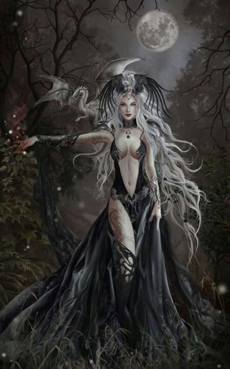Dark beauty: