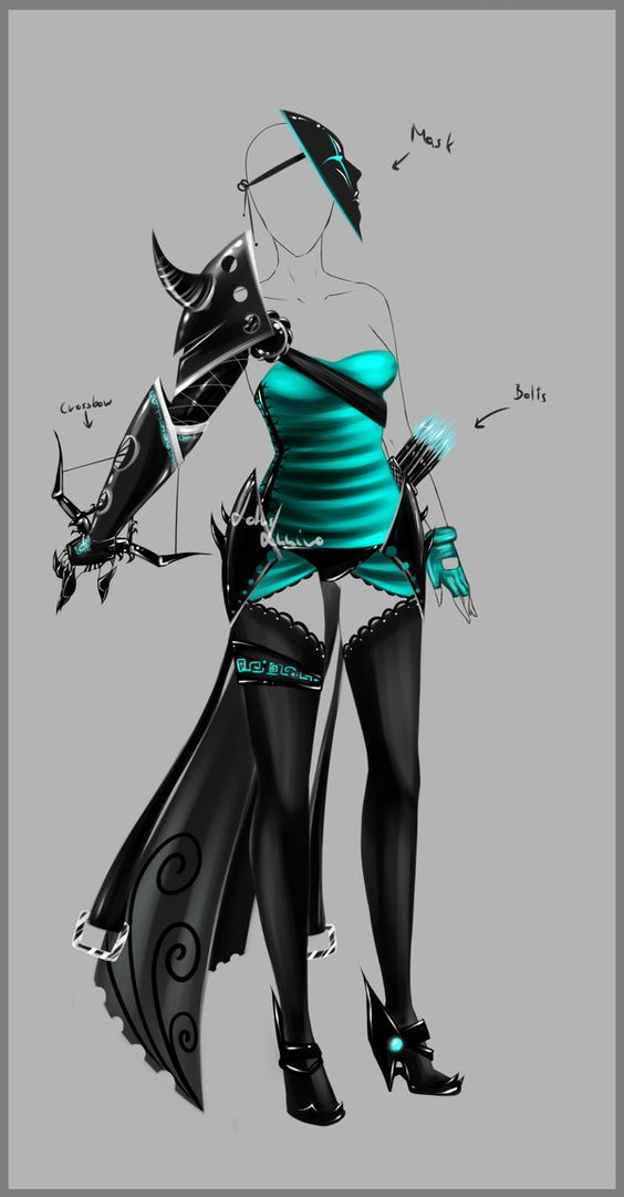Outfit design - 83 - closed by LotusLumino on DeviantArt
