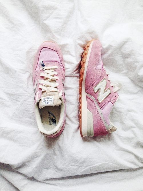 Pink New Balance? We're obsessed.