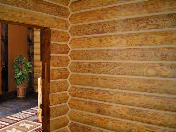 Log home interiors home and logs on pinterest for Lifeline interieur