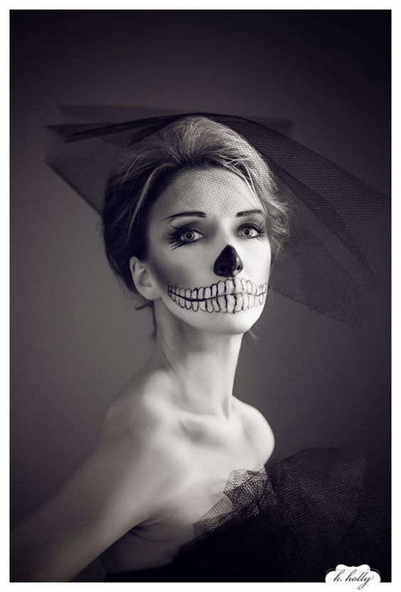 Dead Bride Makeup Pictures : Beautiful, Sexy and Happy halloween on Pinterest