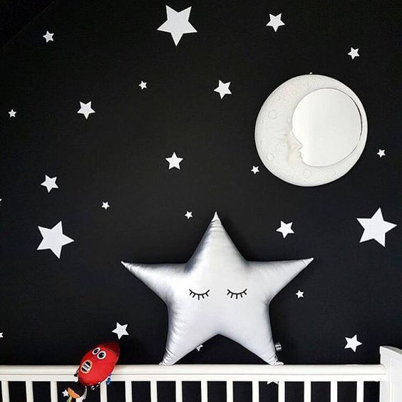 LARGE Star Cushion Star Pillow Sleepy Star by MarjorieMinnie: