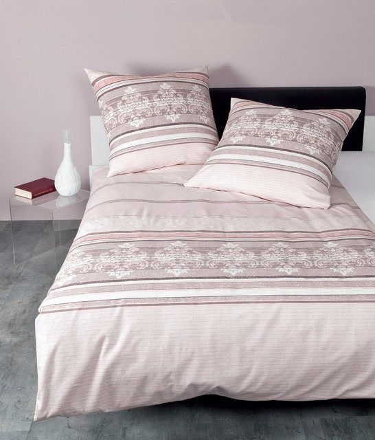 Bettwasche Davos 65065 Mit Grafischem Muster Bettwasche