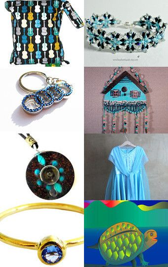 My favorite color is blue by Tatiana Golovenkina on Etsy--Pinned with TreasuryPin.com