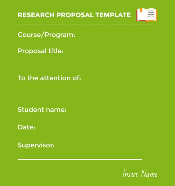 23 Best Strategies to Master Your Research Proposal Template - research proposal template
