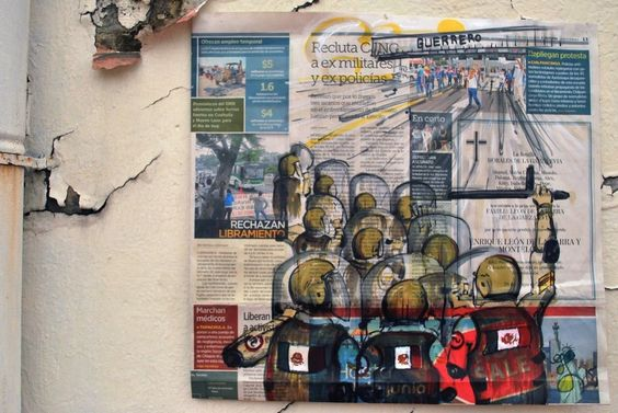 'La censura es un tipo de estética, donde el PRI es Octavio Paz', T. García
