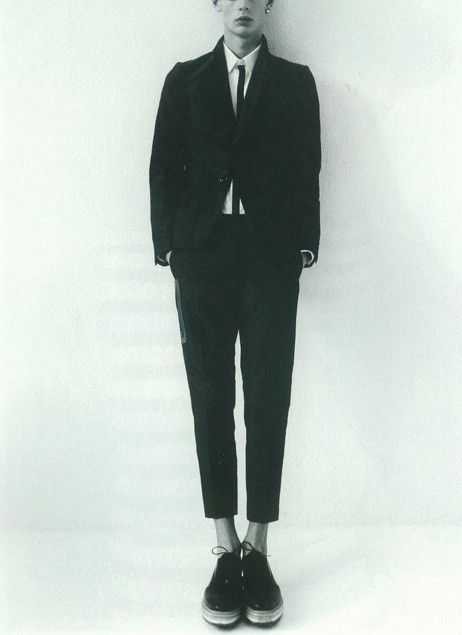 Undercover spring 2011 'UNDERMAN' cropped suit