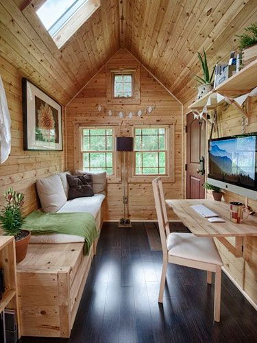 Tack Tiny House And House Tours On Pinterest