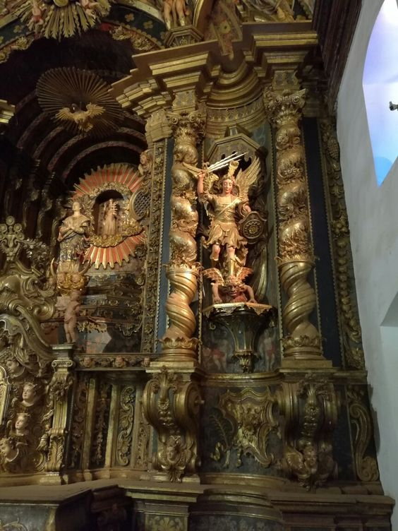 Detalle del Altar. Iglesia de San Buenaventura