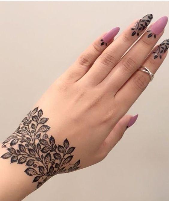 Trendy Mehndi Designs Wrist Henna Henna Tattoo Designs Mehndi Designs For Hands