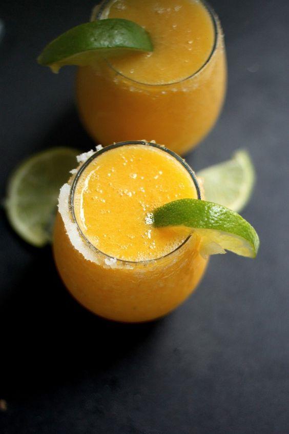 Fresh Mango Margaritas...cinco de mayo!