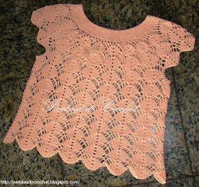 Blusa de croche. Usei agulha 1,75 e linha 100% algodão. Segue gráfico.    GRÁFICO AQUI       Blusa de croche.Gostei muito do resultado. U...