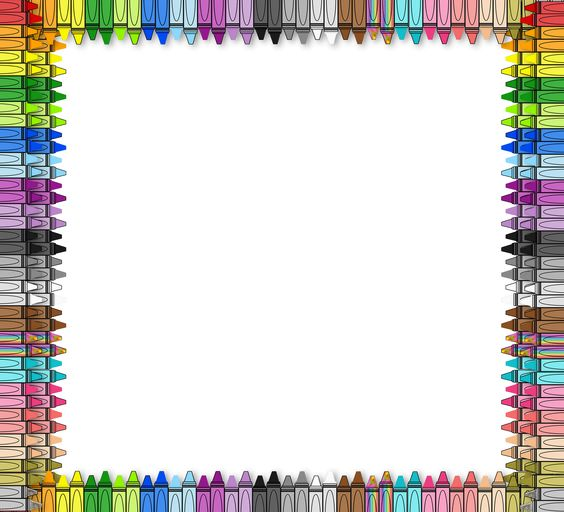 Crayon Borders The 3am teacher: free border from my new set...almost ...
