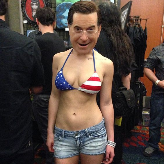 the only way for colbert to become even more awesome.