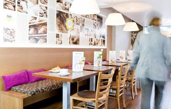 Bäckerei Storz - Gebäudebranding, Interior-Design