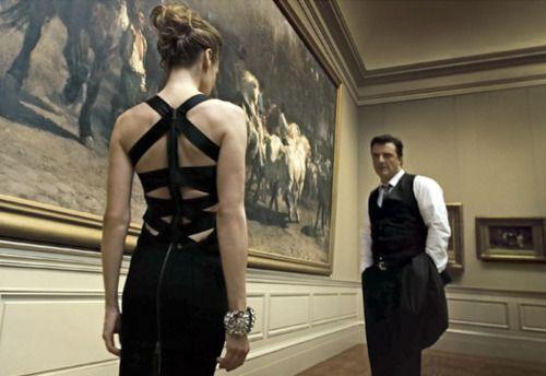 Sarah Jessica Parker and Chris Noth for Vogue Magazine.