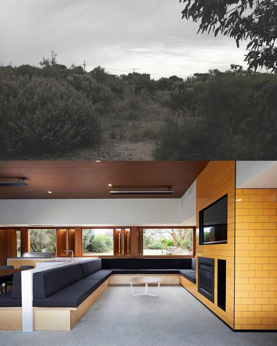 """""""Before & after shots at #wildcoastproject in Blairgowrie, see projects page on our website for more images. #DGD #dangayferdesign #blairgowrierenovation…"""""""