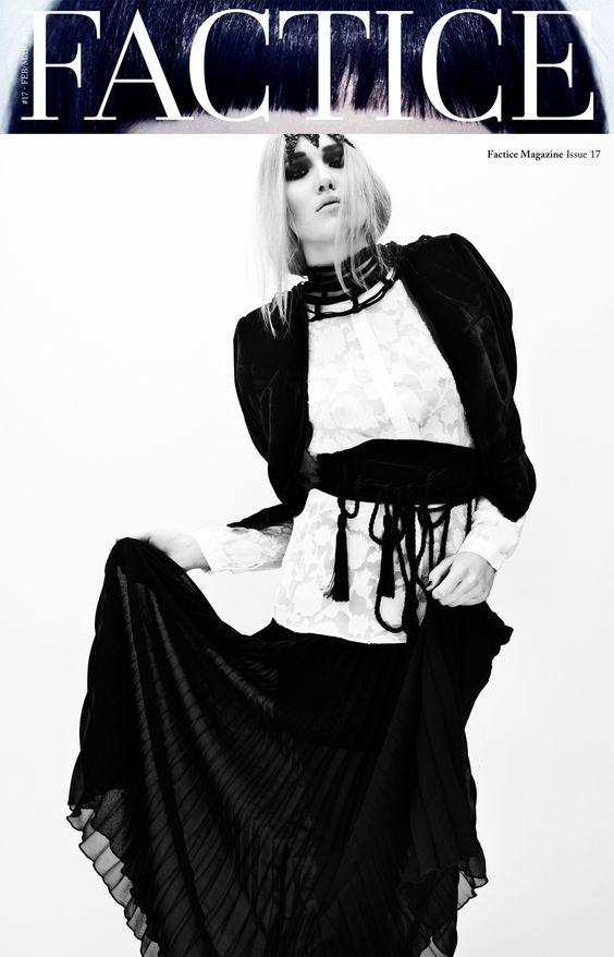 #Maisonclose *Villa Caprice* belt is a ..#necklace! on @Factice Magazine #17  www.maison-close.com