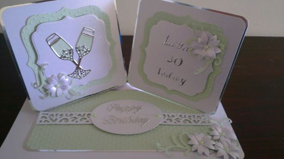 Personalised card for a special birthday