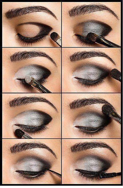 Eyeshadow Steps Smokey Eyeshadow And Makeup Tutorials On