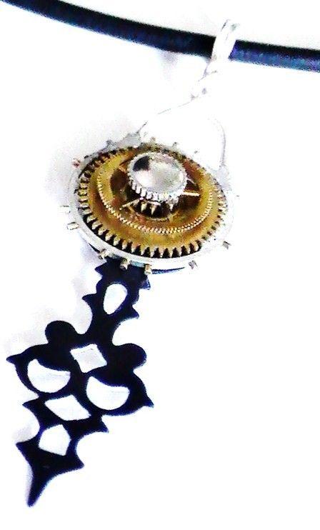 Chronon-Steampunk Necklace