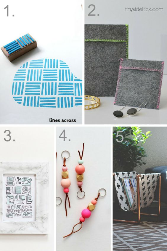 great quick DIY projects to make for someone you love!