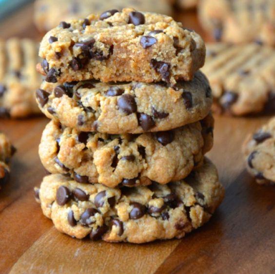 Best Ever Peanut Butter Chocolate Chip Cookies | food | Pinterest ...