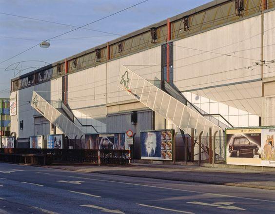Peter Eder : Photograph. Architekturphoto Archiv [archive]. Frey, KonradFluchtstiegen Halle 1 Messe Graz