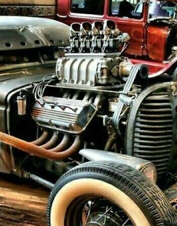 Super charged injected engine