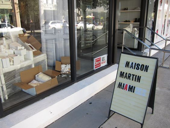 maison martin miami storefront: 14 15, 10 11, 11 12, Martin, Stores Shops, 13 14, 12 13, 15 16