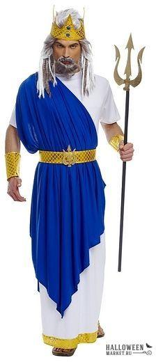 #neptune #poseidon #costume #halloweenmarket #halloween # ...  Poseidon Costume For Men