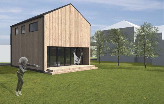 malý dřevěný dům — bydloarchitekti