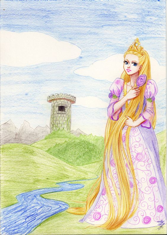 Barbie Rapunzel by sherryXcherry