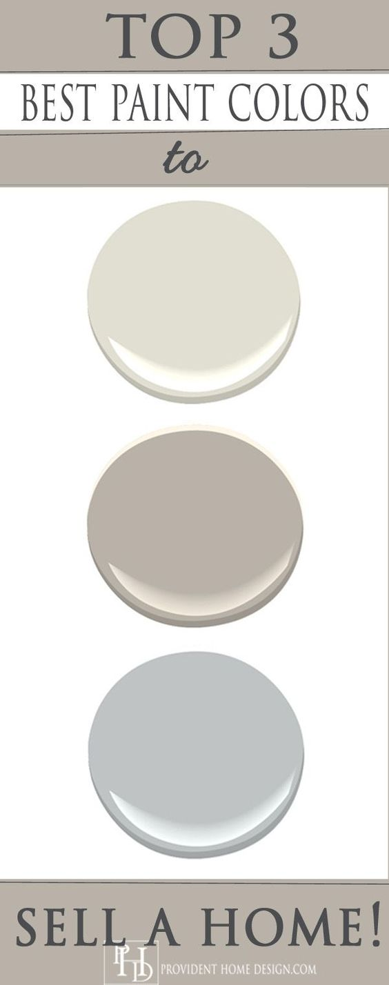 Top Paint Colors to Sell a Home
