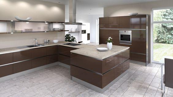 Die besten Naturstein Arbeitsplatten finden Sie bei uns!   - nolte grifflose küche