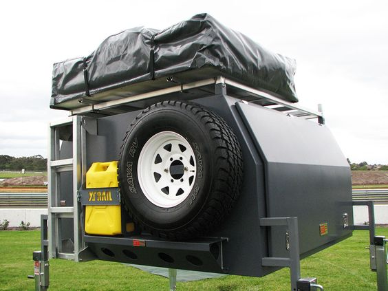 Innovative ALUMINIUM CAMPER TRAILER CUSTOM MADE In SHERWOOD New South Wales For