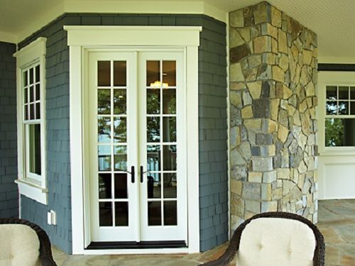 French hardware and doors on pinterest for Narrow french patio doors