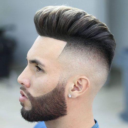 21 Best Pompadour Fade Haircuts 2020 Guide Mens Hairstyles Pompadour Pompadour Fade Pompadour Fade Haircut