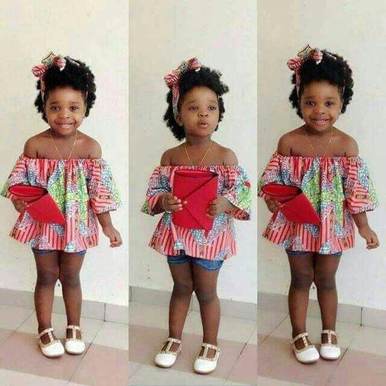 2019 Lovely Ankara Styles for Children