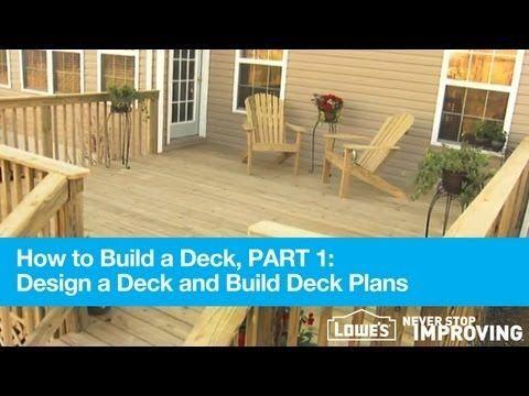 Lowes Has A Deck Designer Program To Help To Build A Deck Part 1 Design A Deck