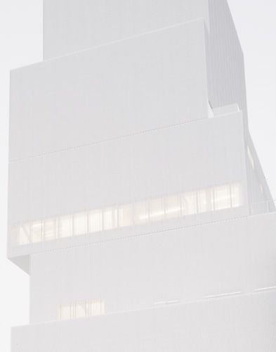 New Museum of Contemporary Art in NY, by japanese architects Sanaa.