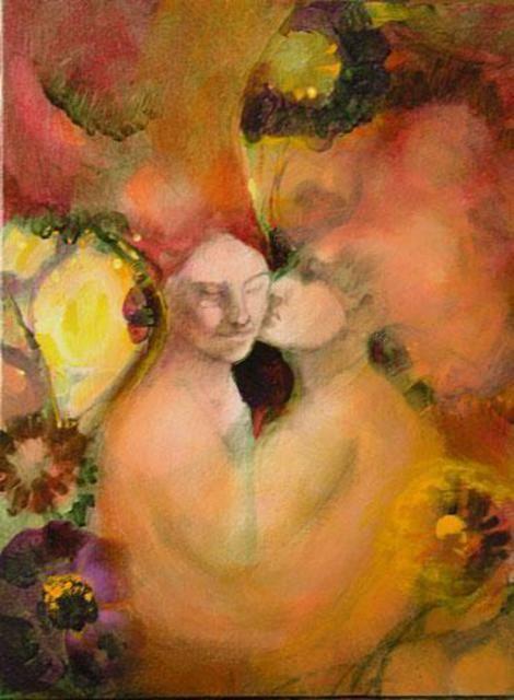 Dominic Koval  'Secret in a Garden', 2005 Oil Painting