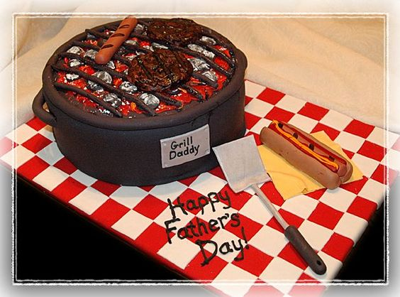 Father's Day Cake Decorating Ideas | Fathers Day Grill Cake Decorating Community Cakes We Bake Picture