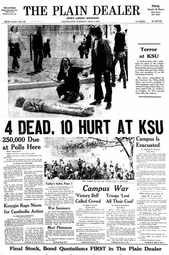 Kent State Shootings Essay Sample