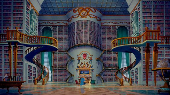 It is a truth universally acknowledged that a big library is the way to our heart.
