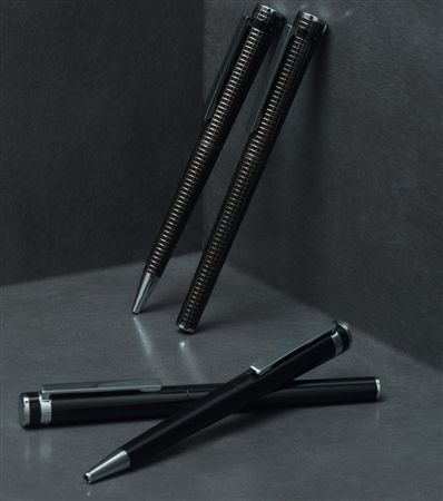 Hugo Boss Kite Grid Rollerball Pen at FahrneysPens.com
